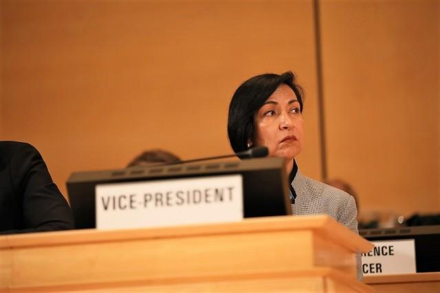 La embajadora de México ante Naciones Unidas en Ginebra, Socorro Flores Liera, será uno de los cinco vicepresidentes del plenario, una posición que corresponde a cada región del mundo representada en la Organización Mundial de la Salud (OMS).