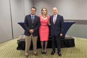 Dr. Francisco Javier Murillo, Lic. Balbina Marín Poo y Dr. Alfonso Copto