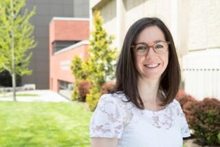 Nicole Proudfoot, una estudiante graduada en el Departamento de Kinesiología de la Universidad de McMaster y autora principal del estudio.