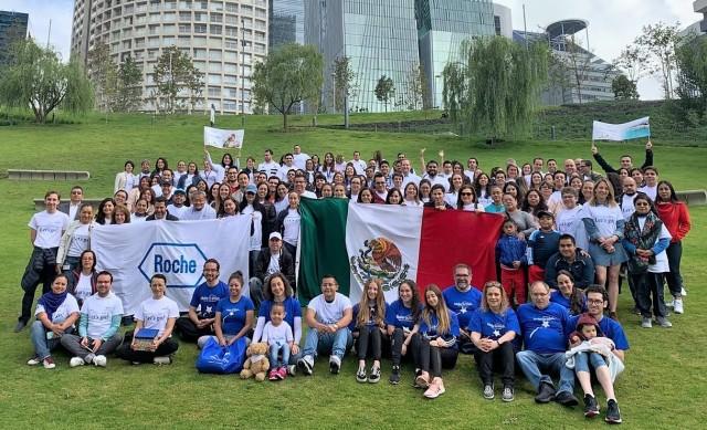 En 2018, Roche México en colaboración con Make a Wish México cumplieron los deseos de 48 niños.