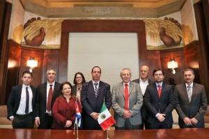 El secretario de Salud, Jorge Alcocer Varela, encabezó la reunión bilateral de alto nivel con representantes del Ministerio de Salud Pública de Cuba.