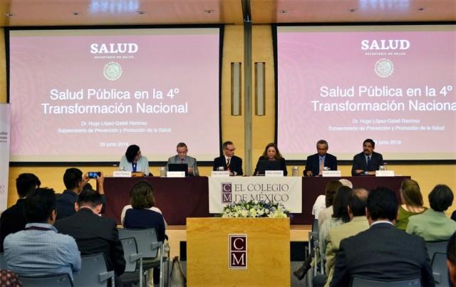 subsecretario de Prevención y Promoción de la Salud en panel ¿Hacia un Sistema Universal de Salud?