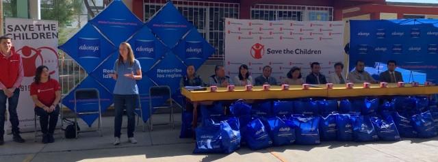 Con la iniciativa #MásToallasMenosFaltas se donarán alrededor de dos millones de toallas femeninas y se mejorarán las condiciones de los espacios sanitarios de escuelas en México.
