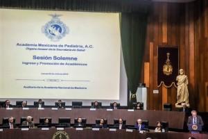 La Academia Mexicana de Pediatría se mantendrá como un órgano asesor de la Secretaría de Salud.