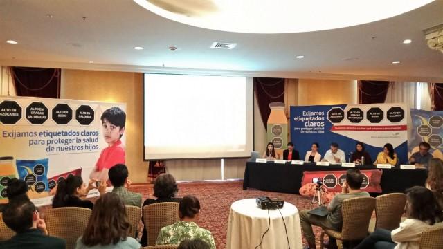 Campaña por etiquetado frontal de advertencia para enfrentar las emergencias epidemiológicas de obesidad y diabetes en México