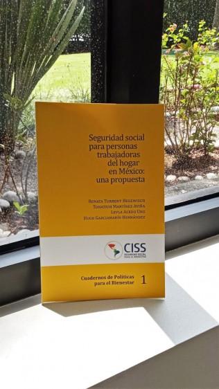 """Cuaderno de políticas públicas para el bienestar, """"Seguridad Social para personas trabajadoras del hogar en México: una propuesta"""""""