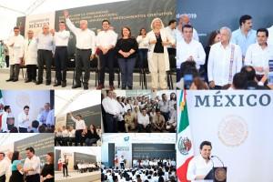 Presidente López Obrador inicia en Chiapas recorridos por 80 hospitales rurales del país