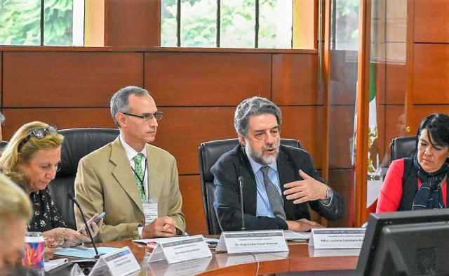 El subsecretario de Prevención y Promoción de la Salud, Hugo López-Gatell Ramírez, presidió la Primera Sesión Ordinaria 2019 de SIPINNA.