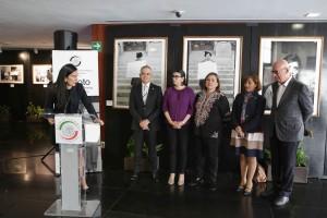 A la apertura fotográfica asistieron, la magistrada del Tribunal Superior de Justicia de la CDMX, Rosa Laura Sánchez Flores, la senadora Xóchitl Gálvez y el senador Miguel Ángel Mancera, entre otros.