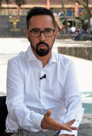 Salvador Chavarría Luna, académico de la Facultad de Psicología de la UNAM.