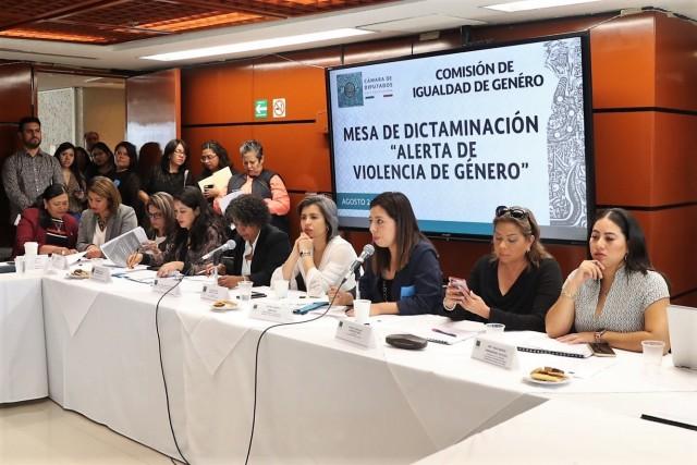Reconocen diputadas que a pesar de las acciones para reducir violencia contra las mujeres esta va al alza.