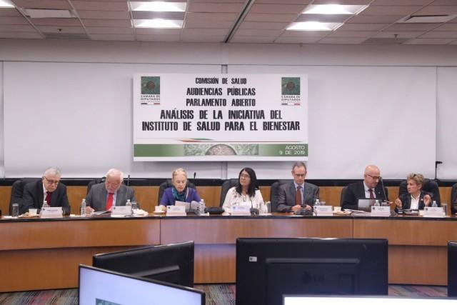 Al continuar con los trabajos de las Audiencias Públicas de Parlamento Abierto para la Creación del Instituto de Salud para el Bienestar (Insabi), la presidenta de la Comisión de Salud, diputada Miroslava Sánchez Galván (Morena), expresó que ha habido un rezago en el financiamiento en salud.