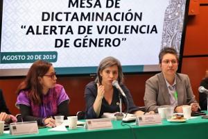 Conavim reconoce que las alertas de género no están funcionando.Sierra Campos pide a los tres poderes actuar unidos en defensa de las mujeres.