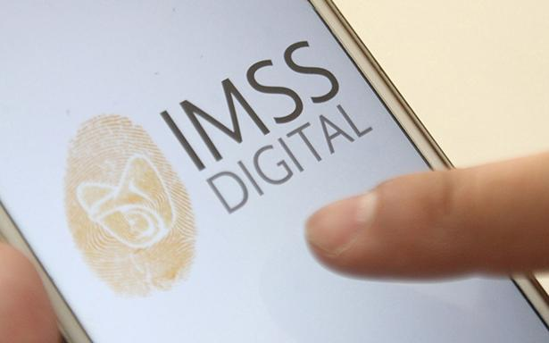 Pantalla con IMSS Digital