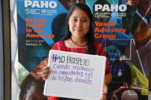 La OPS quiere darle voz a los jóvenes para que sean parte de las soluciones que van dirigidas a mejorar su salud y su bienestar
