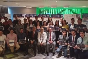 Los estudiantes apoyados realizaron una estancia de siete semanas en los más prestigiados centros e instituciones de investigación en la Ciudad de México, con el objetivo de fomentar su interés por este campo.