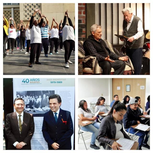 Collage actividades del IMSS