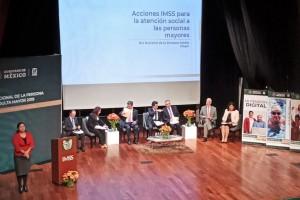 IMSS estamos listos para asumir el liderazgo institucional para la atención de los Adultos Mayores