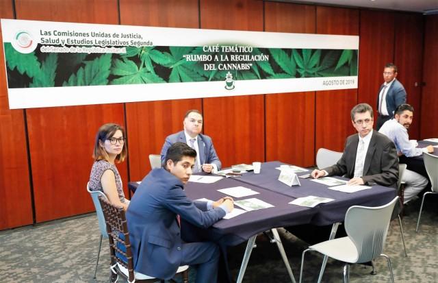 """Café Temático """"Rumbo a la Regulación del Cannabis. Continuará los días 14 y 16 de agosto de 2019."""