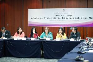 """Mesa de trabajo: """"Alerta de violencia de género contra las mujeres"""""""
