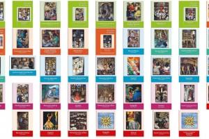 Portadas de los libros de primaria, ciclo escolar 2019-2020