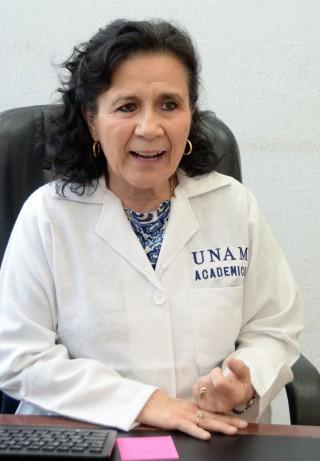 María Gloria Hirose López, profesora de la Facultad de Odontología de la UNAM