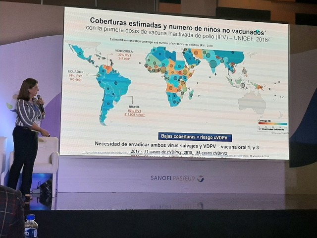 Dra. Lucia Bricks, Directora Médica de Sanofi Pasteur para América Latina.
