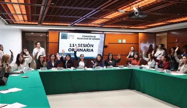 Comisión De Igualdad De Género, 11ª Sesión Ordinaria