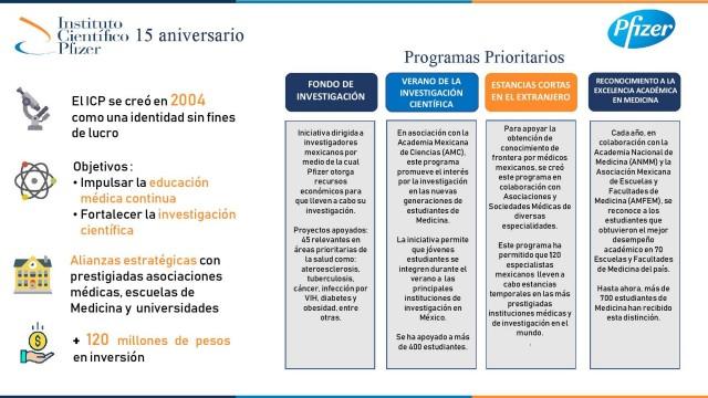 Programas estratégicos ICF