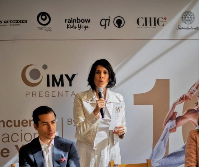 Ana Paula Domínguez, Directora y Fundadora del Instituto Mexicano de Yoga