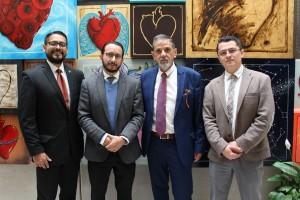 De izquierda a derecha: Dr. Carlos César Carrasco, especialista médico de Laboratorios Silanes; Dr. Adolfo Chávez,presidente de la Alianza por un Corazón Saludable; Sr. Luis Sánchez, Dr. Genaro Mendoza, cardiólogo en el Centro Médico Nacional Siglo XXI.