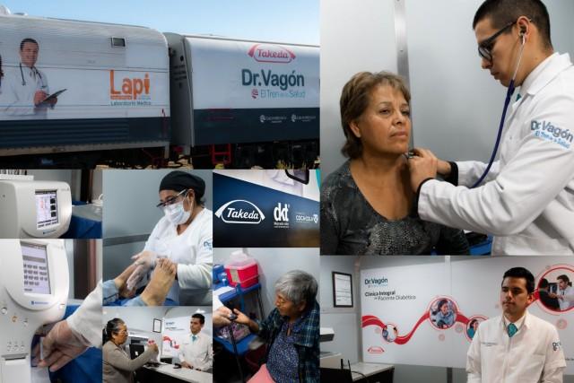 """Dr. Vagón, """"El Tren de la Salud"""""""