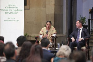 México podría convertirse en líder mundial en la comercialización del cannabis: Jesusa Rodríguez