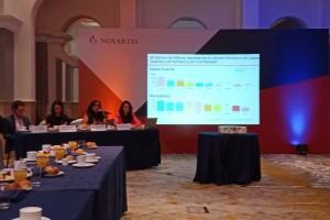 Conferencia de prensa para dar a conocer los resultados deI estudio internacional MONALEESA 7, psobre cáncer de mama metatásico en mujeres premenopaúsicas.