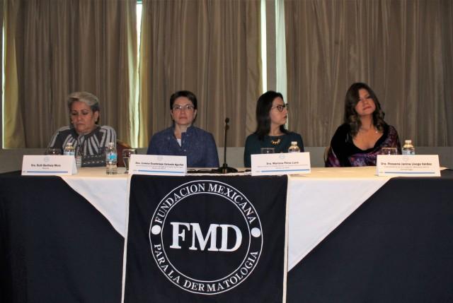 especialistas de la Fundación Mexicana para la Dermatología