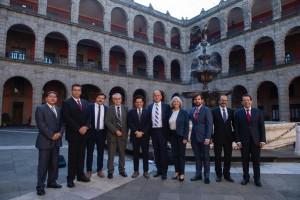 En Palacio Nacional, el secretario Alcocer presenta Plan Nacional de Salud e Instituto de Salud para el Bienestar (Insabi)