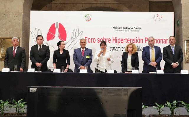 """Se inauguró en la ex sede del Senado el foro """"Hipertención pulmonar: enfermedades respiratorias, tratamiento y cuidado""""."""