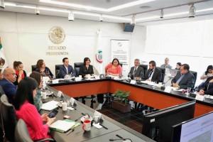 Comparecencia de la secretaria de la Función Pública, Irma Eréndira Sandoval Ballesteros ante la Comisión de Anticorrupción, Transparencia y Participación Ciudadana