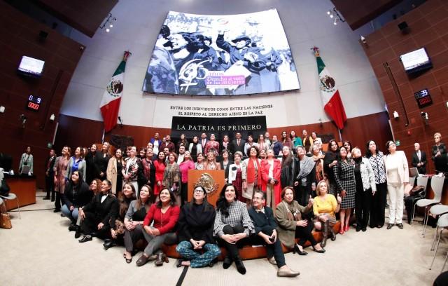 """Sesión solemne: """"66 aniversario del reconocimiento del derecho al voto de las mujeres en México"""""""