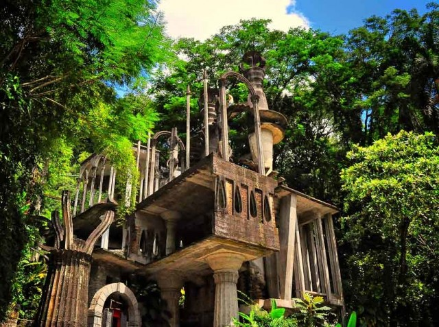 Jardín surrealista en Xilitla. SLP.