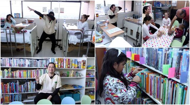 Leer influye notoriamente en el estado de ánimo de los pacientes y acelera su proceso de recuperación. El 12 de noviembre se conmemora el Día Nacional del Libro.