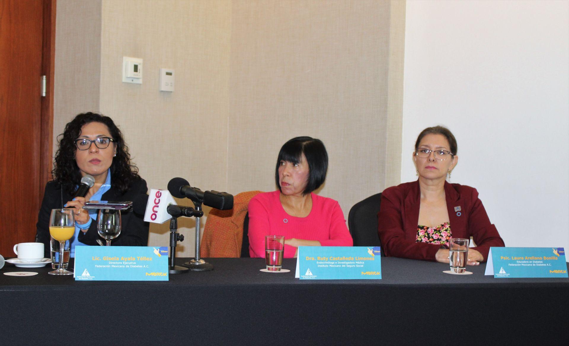 """conferencia de prensa """"prediabetes se puede revertir"""""""