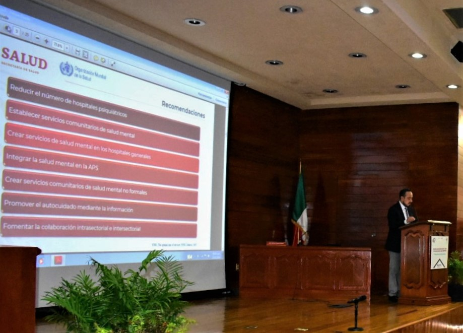 """conferencia magistral """"Hacia una nueva política pública de salud mental en México"""""""
