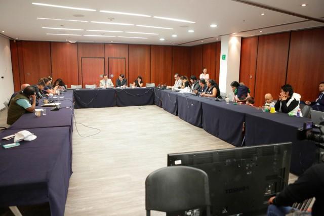 Reunión de la Comisión de Salud con una representación de padres y madres de niños enfermos