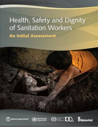 """Portada del """"El informe sobre la situación de los trabajadores de saneamiento en el mundo"""""""
