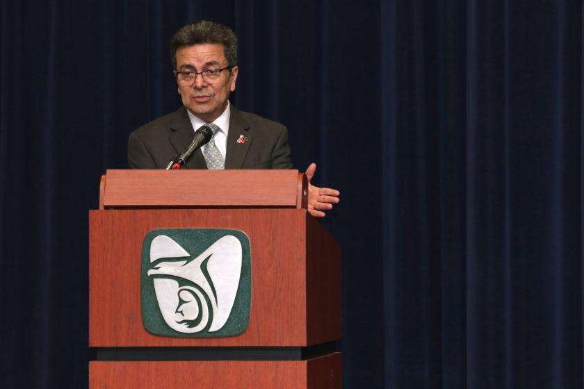 David Razú, director de Vinculación Institucional y Evaluación de Delegaciones