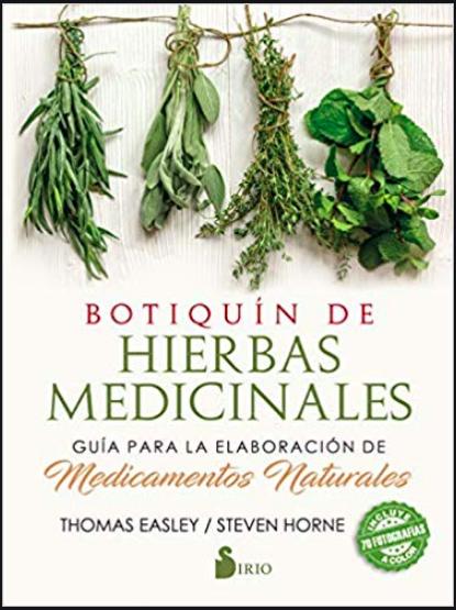 Portada del libro Botiquín de Hierbas Medicinales