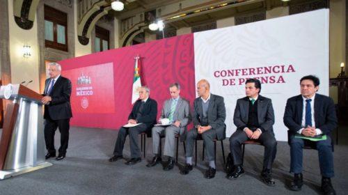 Conferencia de prensa de la Presidencia de la República el 28 de enero de 2020
