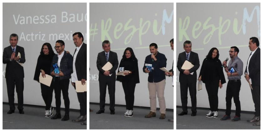 Ganadores del  concurso de cortometrajes sobre EPOC: #RespiMÁS