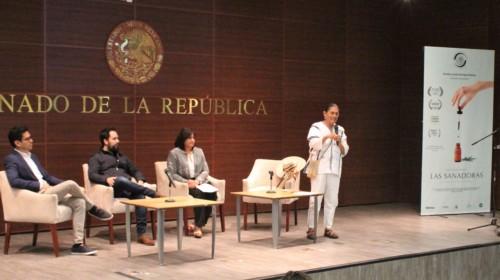 """Presentación del documental """"Las Sanadoras"""" en el Senado de la República"""